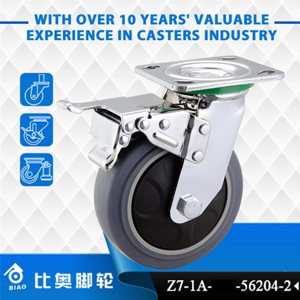 6 inch heavy casters of Zhongshan casters